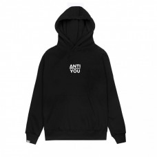 HOODIE BLACK ANTI YOU REFLECTIVE