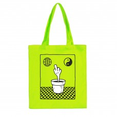 DOKE TOTE BAG neon.green шопер